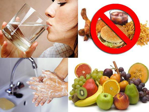 Питание при кишечных инфекциях у взрослых