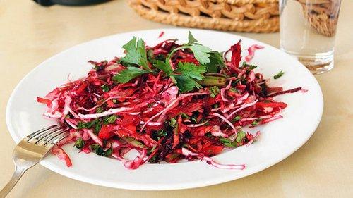 Салат для чистки кишечника
