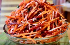 Салат метелка для очищения кишечника — рецепты