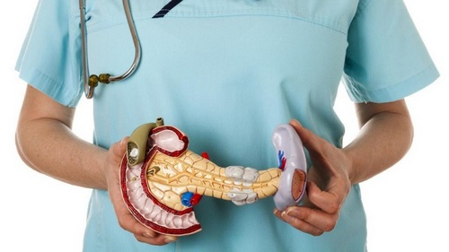 врач лечит поджелудочную железу