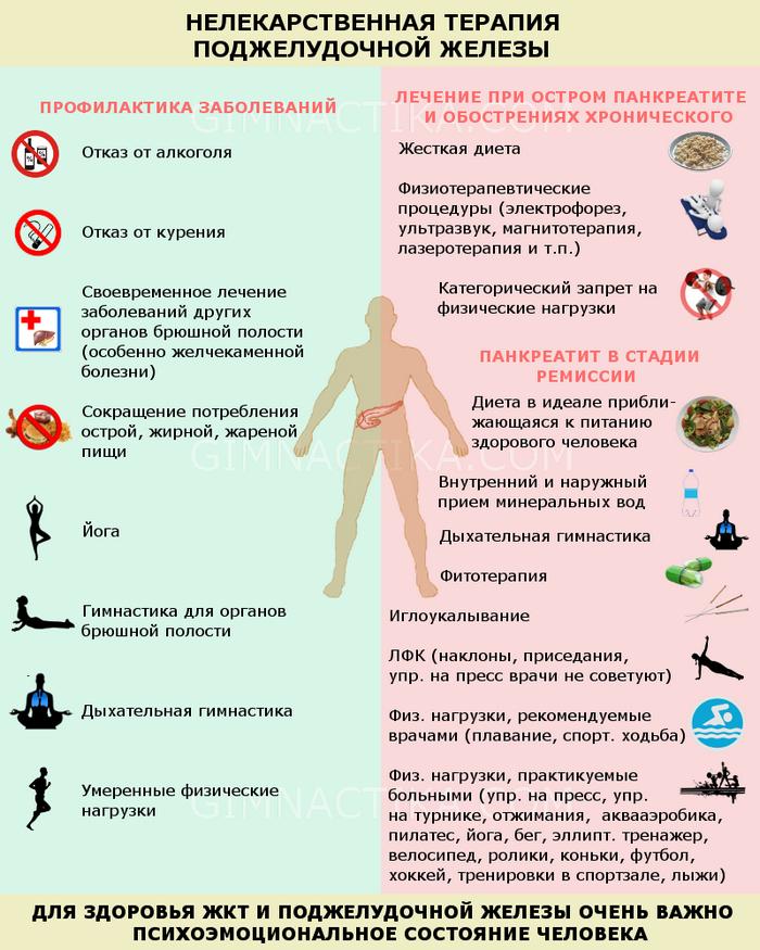 терапия поджелудочной железы
