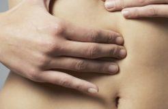 Причины появления уплотнений в животе, их диагностика