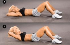 Самые эффективные упражнения для похудения живота